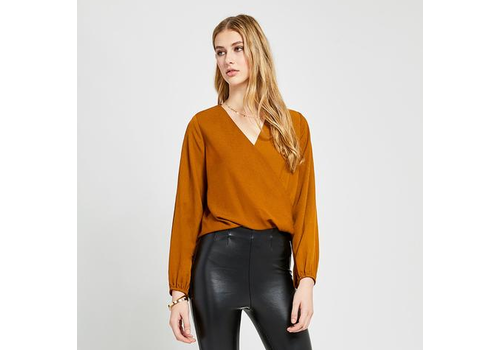 GENTLE FAWN BLOUSE AMELIE - OCRE