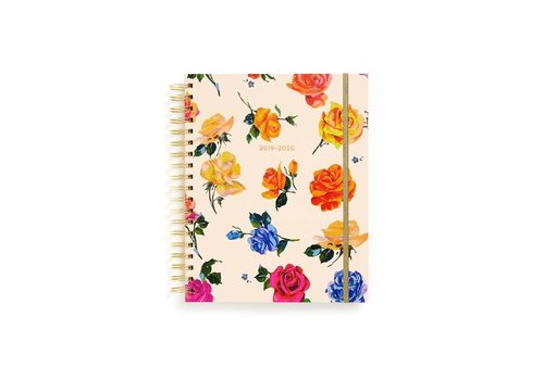 BAN.DO AGENDA LARGE 17 MOIS - COMING UP ROSES
