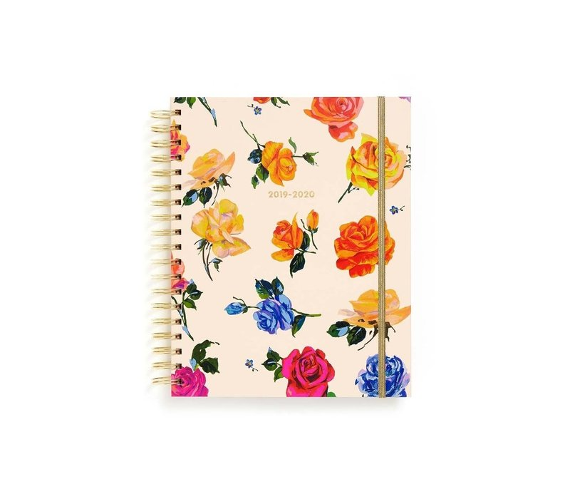 AGENDA LARGE 17 MOIS - COMING UP ROSES