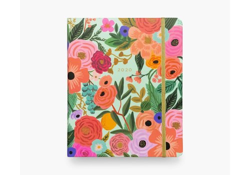RIFLE PAPER CO PETIT AGENDA SPIRALE 2020 - GARDEN PARTY