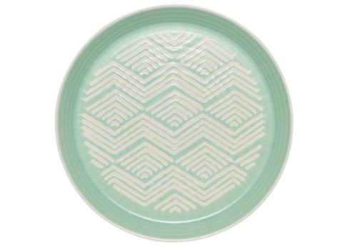 DANICA ASSIETTE IMPRINT - MINT
