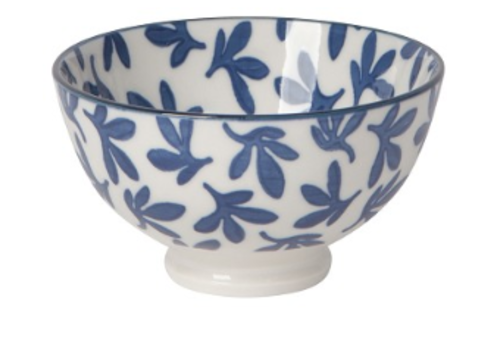 DANICA BOL STAMPED 4 POUCES - BLUE FLORAL