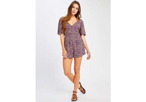 GENTLE FAWN ROMPER ODYSSEY - MAUVE MICRODITSY