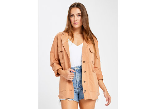 GENTLE FAWN JACKET SAUNDERS - DUSTED CLAY