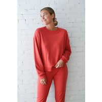 CREWNECK OVERSIZE RUBY - CANNELLE