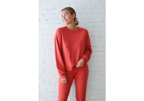 DAILYSTORY CREWNECK OVERSIZE RUBY - CANNELLE
