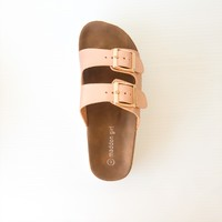 SANDALE GOLDIIE - ROSE GOLD