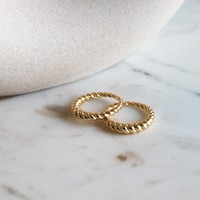 BAGUE CRESSENTO - OR
