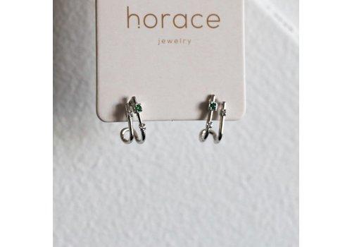 HORACE BOUCLE D'OREILLES DUE - ARGENT
