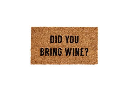 INDABA TAPIS - DID YOU BRING WINE?