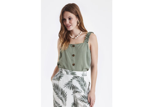 B.YOUNG CAMISOLE HOLLY - VERT MOUSSE