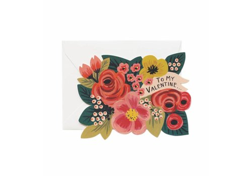 RIFFLE PAPER CO. CARTE TO MY VALENTINE