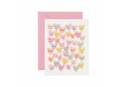 RIFFLE PAPER CO. CARTE VALENTINE SWEETHEARTS