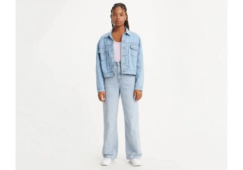 LEVIS JEANS HIGH LOOSE - LOOSEY GOOSEY LIGHT WASH
