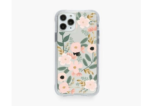 RIFLE PAPER CO ÉTUI IPHONE 11 PRO - CLEAR WILDFLOWER