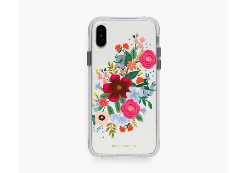 RIFLE PAPER CO ÉTUI IPHONE X-XS - CLEAR WILD ROSE