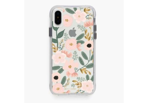 RIFLE PAPER CO ÉTUI IPHONE X-XS - CLEAR WILDFLOWER