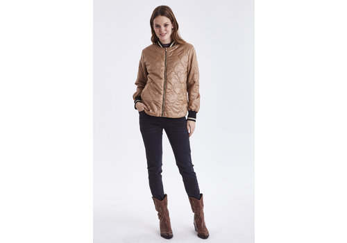 B.YOUNG MANTEAU BERTA BOMBER - GOLDEN SAND