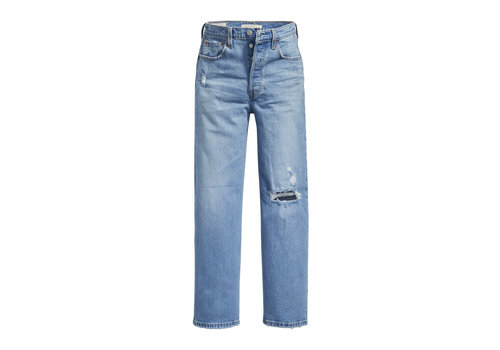LEVIS JEANS RIBCAGE STRAIGHT ANKLE - TANGO FADE