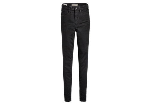 LEVIS JEANS MILE HIGH SUPER SKINNY - BLACK GALAXY