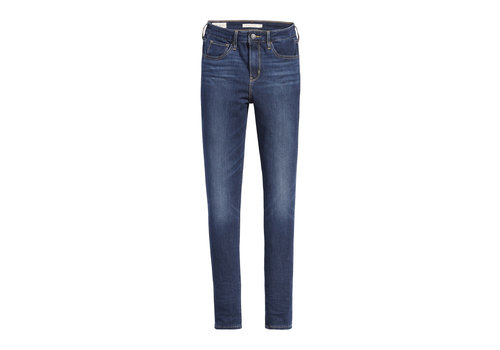 LEVIS JEANS 721 HIGH RISE SKINNY - SMOOTH IT OUT