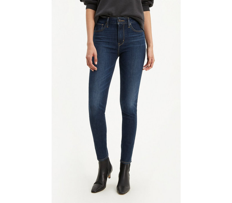 JEANS 721 HIGH RISE SKINNY - SMOOTH IT OUT