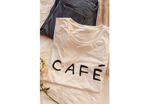 MIMI & AUGUST XSMALL - DERNIÈRE CHANCE - T-SHIRT CAFÉ YO