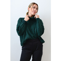 SMALL - DERNIÈRE CHANCE - TRICOT HELEN CHUNKY - FOREST