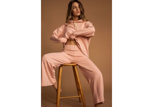 DAILYSTORY PANTALON LUCILLE FLARE - BLUSH