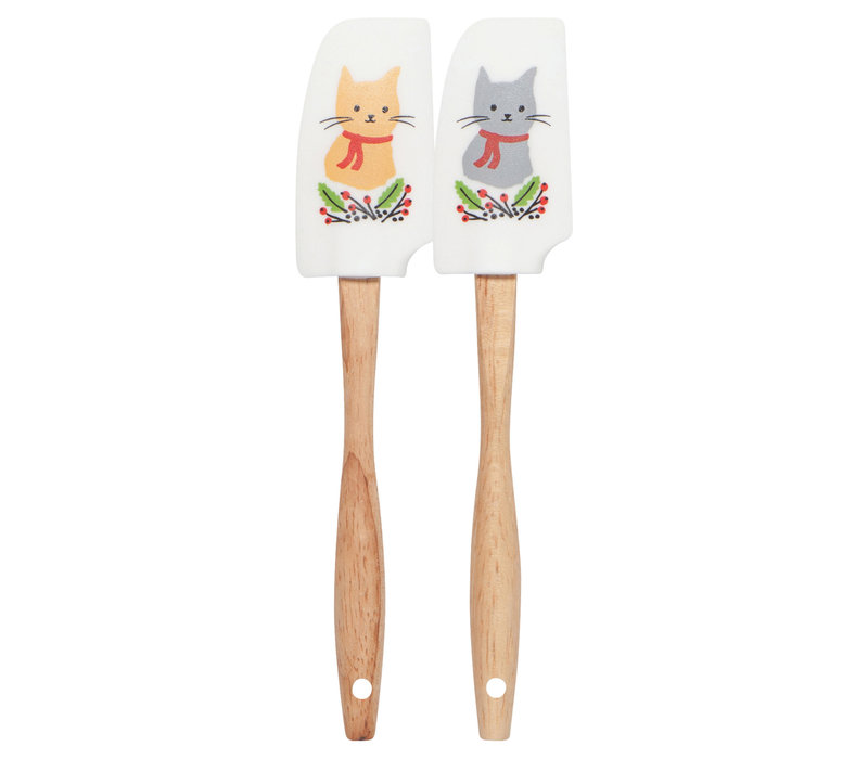 ENS. 2 MINI SPATULE - JINGLE CAT