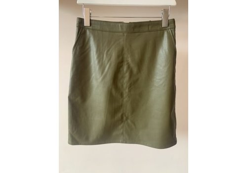 SOAKED IN LUXURY JUPE TAMARA - OLIVE MILITAIRE
