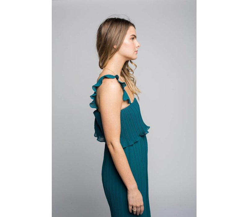 PLAYSUIT LETTY- TEAL