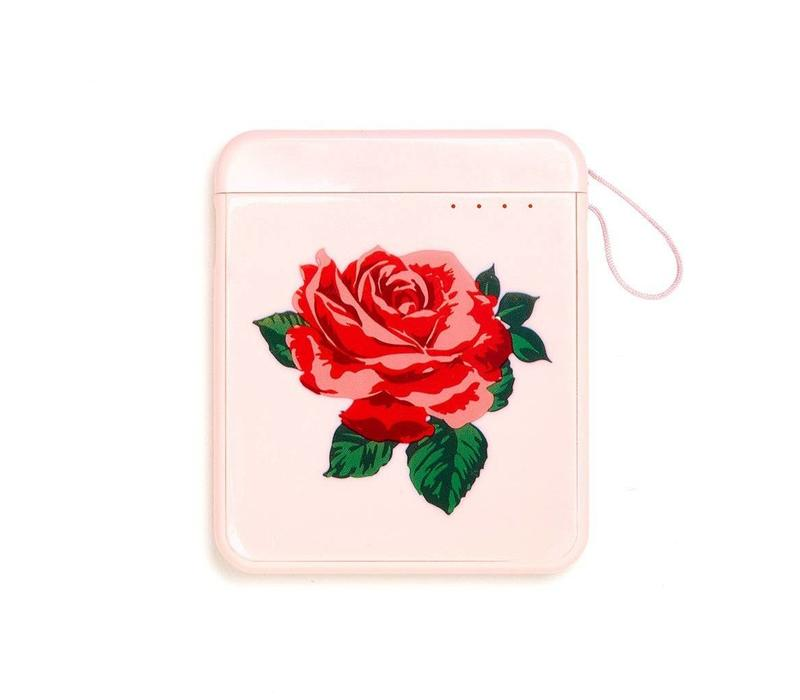 Back Me Up chargeur mobile rose