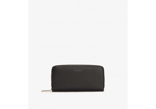 Matt & Nat PORTE-FEUILLE SUBLIME - BLACK