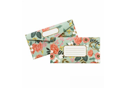 RIFFLE PAPER CO. ENSEMBLE DE 25 ENVELOPPES- MINT BIRCH
