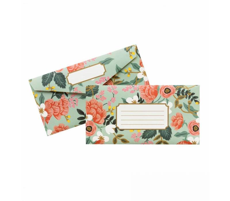 ENSEMBLE DE 25 ENVELOPPES- MINT BIRCH