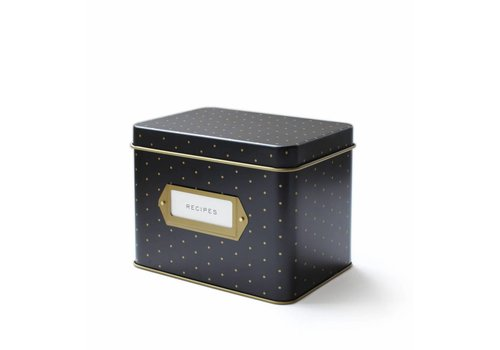 RIFFLE PAPER CO. POLKA DOT RECIPE BOX
