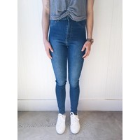 PANTALONS HIGH SPRAY DIM BLEU