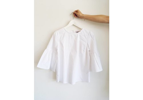 SOAKED IN LUXURY *DERNIÈRE CHANCE* BLOUSE REED SMALL