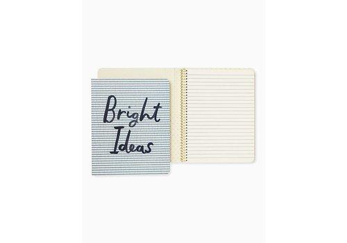 KATE SPADE SPIRAL NOTEBOOK- BRIGHT IDEAS