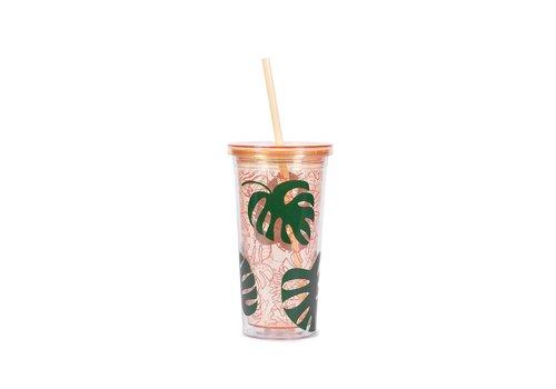 BAN.DO TASSE À CAFÉ FROID - MONSTERA