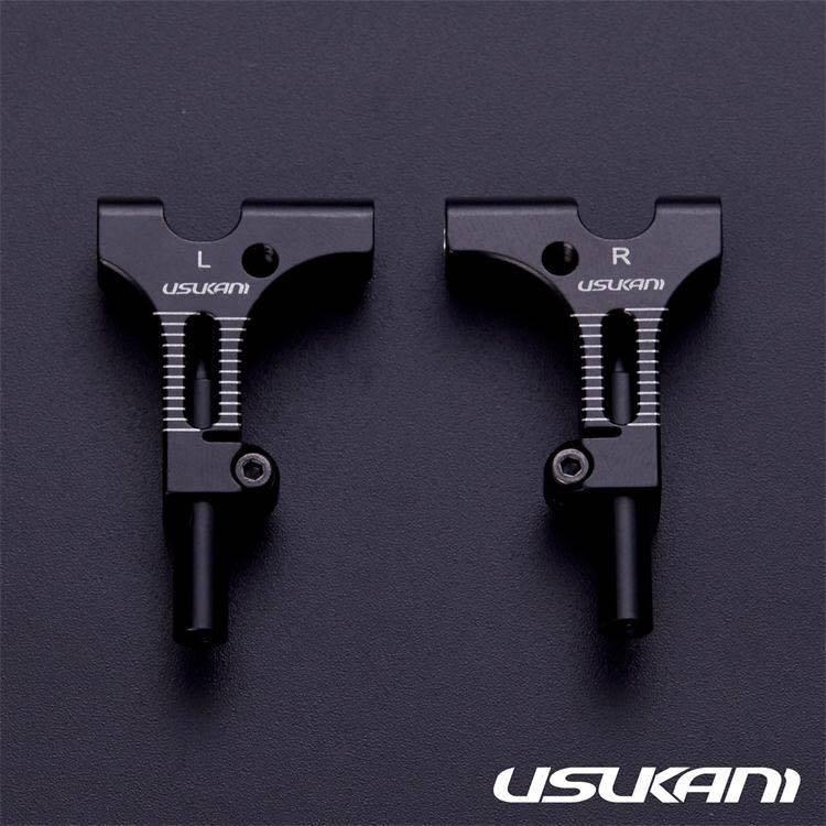 Usukani US88193BK Usukani/AR Ver3.0 Front lower arm set/2pcs-3.0MM (BLACK?