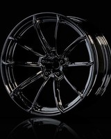 MST MXSPD102077SBK Silver black GTR wheel (+7) (4) by MST 102077SBK