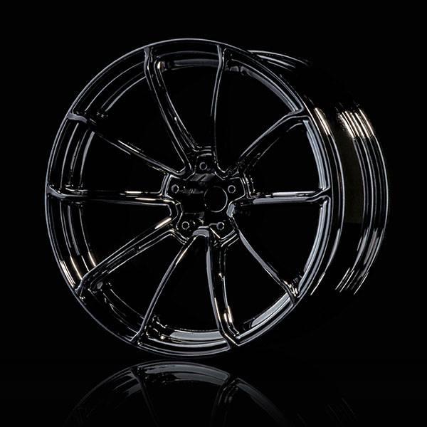MST MXSPD102077SBK Silver black GTR wheel (+7) (4) by MST102077SBK