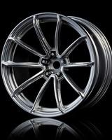 MST MXSPD102077FS Flat silver GTR wheel (+7) (4) by MST 102077FS