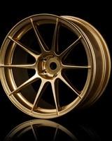 MST MXSPD102072GD Gold 5H wheel (+7) (4) by MST 102072GD