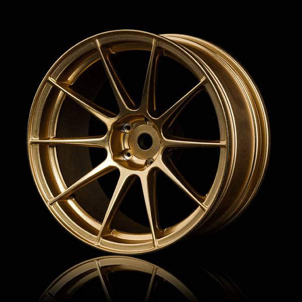 MST MXSPD102072GD Gold 5H wheel (+7) (4) by MST102072GD