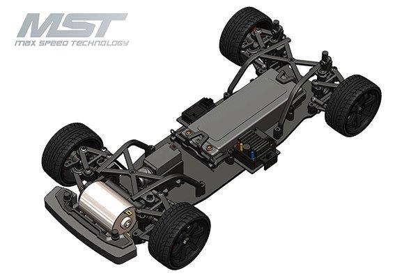 MST MXSPD532171 TCR-FF On-Road EG6 Civic Car KIT Only by MST 532171