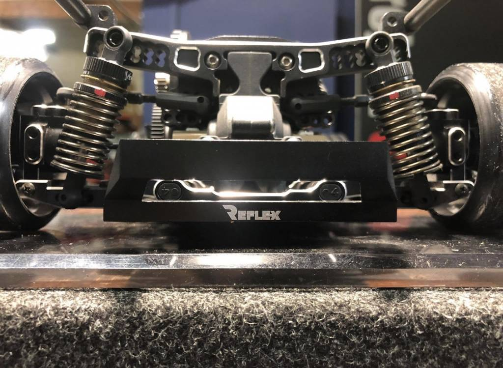 Scale Reflex SR865100 YD2 Aluminum Rear Bumper by Scale Reflex 865100