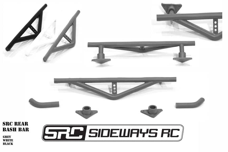 SRC SRCCSHBR Rear Crash Bar by SRC
